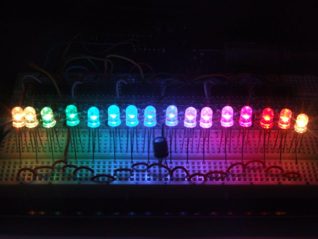 Arduino RGB LED strip control with Souliss and ShiftPWM