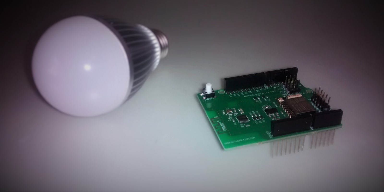 Build your DIY Arduino compatible Philips Hue like LED Bulb, using LYT and Souliss