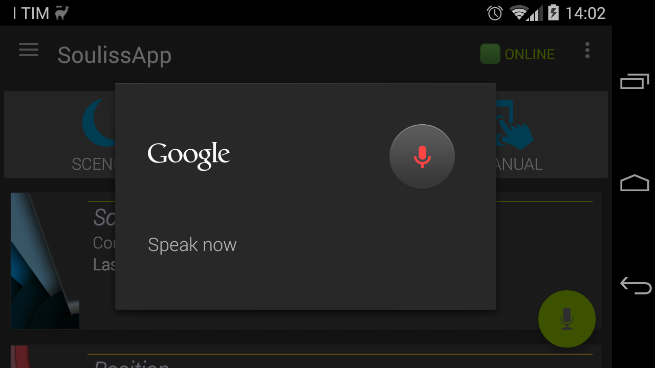 SoulissApp 1.5.4 is out with Voice Recognition!
