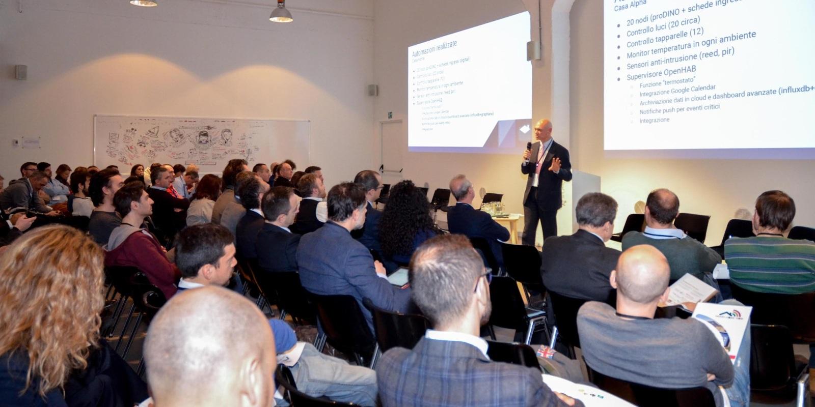 Parliamo di SmartHome a Torino, Bologna, Milano e Roma!