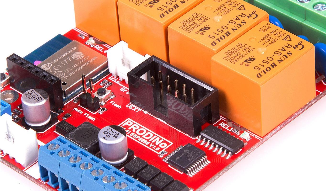 Use the KMP DINo WiFi (ESP8266)